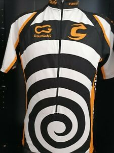 MAGLIA BICI CICLISMO MAILLOT SHIRT SPORT  CYCLISM SPORT TEAM CANNONDALE  tg. M