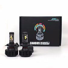 JDM ASTAR 2pc 8000LM CANBUS 7S H4 9003 6000K White LED Headlght Conversion Lamps