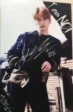 hand signed Stray Kids LEE KNOW autographed photo 4*6 I am not  K-POP 062018#a