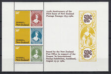 New Zealand 1980 125th anniversary first stamp Victoria YT BF044 MNH** Luxe
