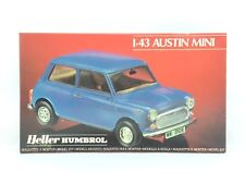 Austin Mini 1/43 Scale Model Kit Heller Humbrol 80184 Vintage Original Unbuilt