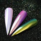 Magic Neon Unicorn Powder Chameleon Mermaid Mirror Nail Art Dust Chrome Pigment