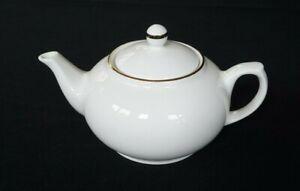 Beautiful Maxwell Williams White Gold Teapot