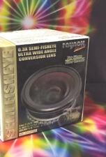Raynox MX-3062 PRO 0.3x SEMI-Fisheye WIDE ANGLE Lens 62mm Camera Video Camcorder