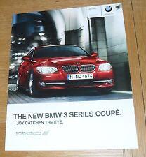 BMW SERIE 3 COUPE E92 OPUSCOLO 2010 325i 330i 335i 320d 325d 330d 335d M Sport