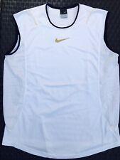 Rare 2005 SHANGHAI Nike Rafael Nadal Sphere Tennis Sleeveless Shirt RAFA MEDIUM