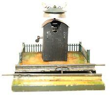 VINTAGE PRE-WAR MARKLIN TRACK BELL 0-GAUGE CROSSING PLATFORM