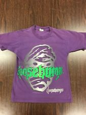 "Vintage 1996 Parachute Press - ""Goosebumps"" T-Shirt - Youth Size Medium"