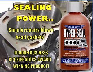 HYPER-SEAL -  PERMANENT HEAD GASKET LEAK REPAIR / FIX DIESEL AND PETROL