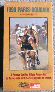 1990 Paris - Roubaix Famous Cycling Videos VHS Eddy Plankaert Very Clean