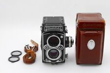 【NEAR MINT-】Rolleiflex 3.5E Planar w/Meter & Case TLR Film Camera from Japan#658