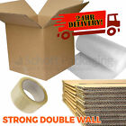 20 X Large Double Wall Cardboard Moving Boxes - Removal Packing Storage