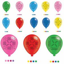 Birthday, Adult Oval Party Balloons