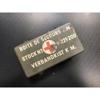 Genuine Metal Vintage First Aid Box Army Surplus NATO Waterproof