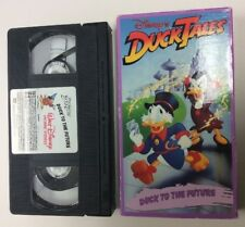 Disney's Duck Tales Duck To The Future VHS Video Tape Rare Ducktales