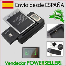 Cargador Bateria movil Universal | GRANDE | LCD - medidor de carga