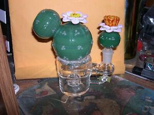 EMPIRE GLASSWORKS CATUS FLOWER  HOOKA/WATERPIPE MADE IN USA RARE3