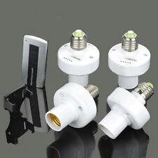 4x E27 Screw Wireless Remote Control Light Lamp Bulb Holder Cap Socket Switch