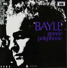 FRANCOIS BAYLE - GRANDE POLYPHONIE - Rarissime LP – Prospective 21ème siècle