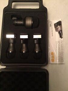 CAD Pro 4 Drum Microphone Set - 4 Microphones. READ DESCRIPTION