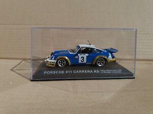 IXO DEAGOSTINI 1/43 PORSCHE 911 CARRERA RS MONTE CARLO 1978 DIECAST CAR