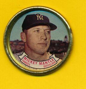 Mickey Mantle (HOF) - 1964 Topps Coin - New York Yankees
