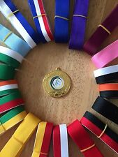 10x Netball Medals 50mm Choice of ribbons  Great value!! Bulk Buy