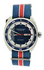 Hamilton Pan Europ-Day-Date Automatic Stainless Steel Watch H35405741