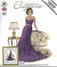 """CROSS STITCH KIT """"GRACE"""" John Clayton's Elegance by Heritage Crafts"""
