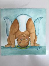Drawing Picture Painting Dorothy Allen Devious Angel Baby Bending Over African