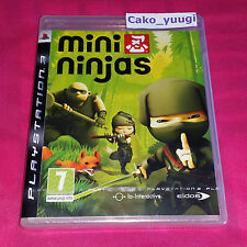 MINI NINJAS SONY PS3 NEUF SOUS BLISTER VERSION 100% FRANCAISE