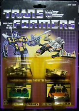Transformers Frenzy & Laserbeak G1 MOSC