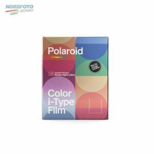 POLAROID I-Typ COLOR Doppelpack Metallic Nights mit 2x 8 Aufn. ohne Batterie f .