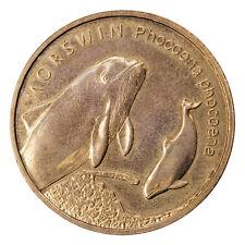 2 ZL Polonia 2004the Animals of the World-morświn (łac. Phocoena phocoena) i