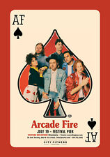"ARCADE FIRE ""EVERYTHING NOW CONTINUED"" 2018 PHILADELPHIA CONCERT TOUR POSTER"