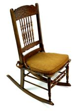 Antique Beech Rocking Chair - FREE Shipping [PL4730]