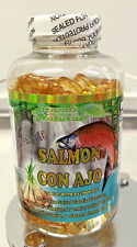 Omega 3 6 9 capsules y ACEITE SALMON Ajo- OMEGA 3 6 9 SALMON Oil & Garlic 200pcs