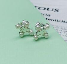 83c3aca41979 812453710 Pendientes Tous Real Sisy Plata Con Perlas