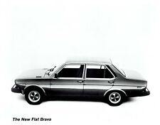 1978 Vintage Photo of the new Fiat Brava 4-Door Sedan Automobile Car