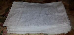 """4 Large Ultra Soft Absorbent 100% Cotton Terry Cloths 14x17"""""""