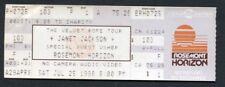 1998 Janet Jackson Usher unused concert ticket Velvet Rope Tour Rosemont IL