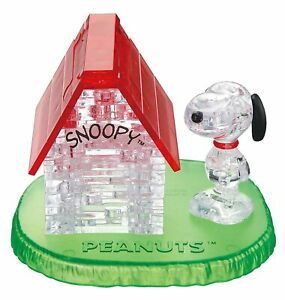 BEVERLY Crystal Puzzle - Snoopy House (Japan Import)