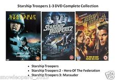 STARSHIP TROOPERS TRILOGY COLLECTION DVD ALL 1 2 3 HERO OF FEDERATION MARAUDER