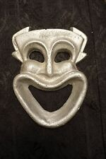 Cast Iron WALL MOUNT Vintage silver CLOWN BOTTLE OPENER. Wall art.