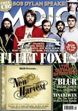 Mojo Music Magazine August 2009 Fleet Foxes, Bob Dylan, Blur CD SEALED