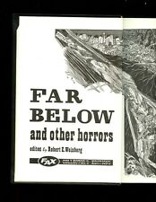 str- FAR BELOW & OTHER HORRORS FROM THE PULPS,  Weinberg, r/p ed,   HB VG