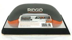 RIDGID FT2501 Gum Rubber Grout Float 9.22 In Diameter Durable Powerful GR