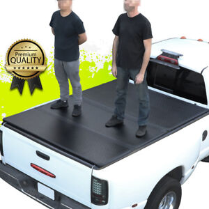 6ft Bed Fleetside Hard Solid Tri-Fold Tonneau Cover for S10 S15 Sonoma 94-03