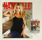 "JESSICA SIMPSON Signed Autograph Auto""Nashville Lifestyles"" Magazine JSA COA"