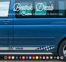 VW Side Stripe Sticker Decal Graphic Volkswagen T6 T5 Transporter Camper Van SWB